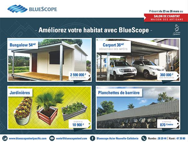 Bluescope au salon de l'habitat