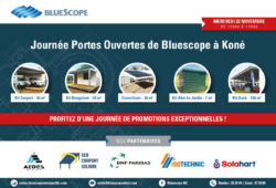 Journée Portes Ouvertes de Bluescope à Koné !