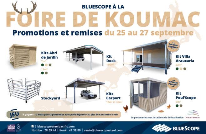 Bluescope à la foire de Koumac