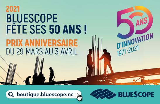 Bluescope fête ses 50 ans